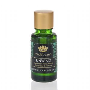 UNWIND Purity Range - Scented Essential Oil Blend Made By Zen 15ml